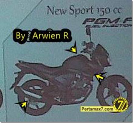 Honda new megapro Pgm-FI