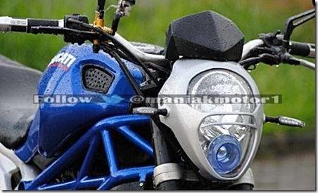 Honda tiger ala ducati monster 795 5