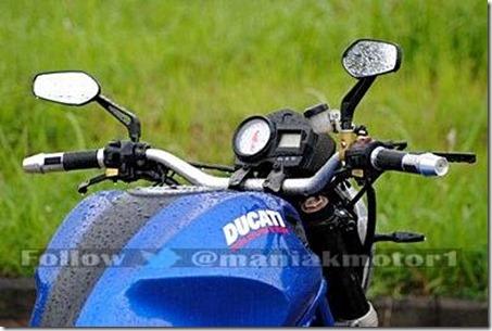 Honda tiger ala ducati monster 795 7