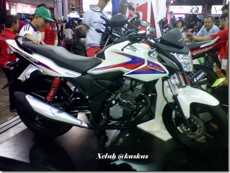 Honda verza putih di PRJ 1