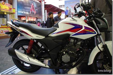 Honda verza putih di PRJ 2