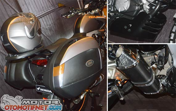 Modifikasi Honda New Megapro touring ala AHM 11