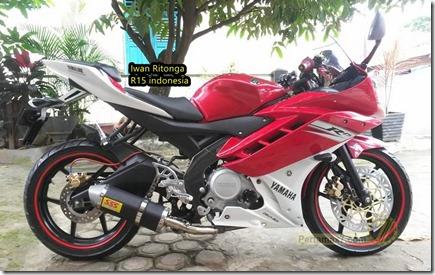 modifikasi Yamaha Vixion fairing R15 3