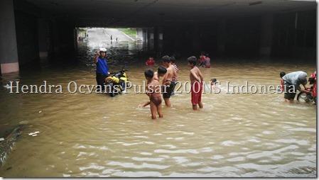 p200ns tantang banjir jakarta