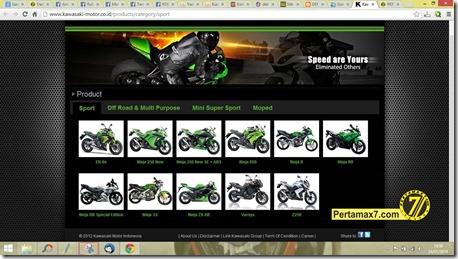 produk kawasaki motor indonesia