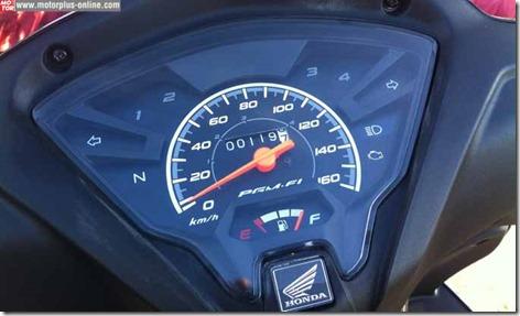 speedometer honda new revo fi