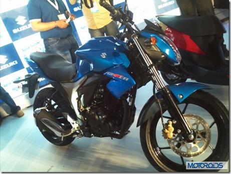 Suzuki GIXXER 150  3