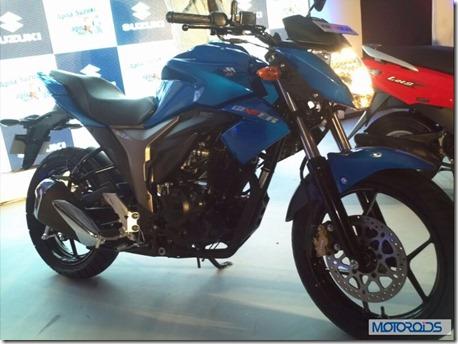 Suzuki GIXXER 150  7