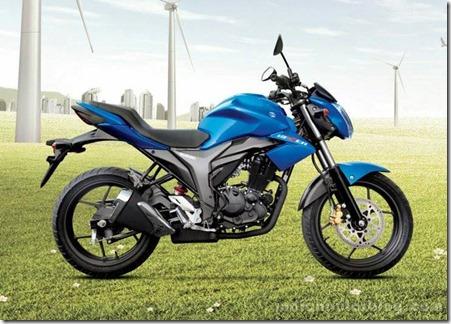 suzuki GIXXER 150 India
