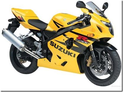 suzuki GSX R 600 (Small)