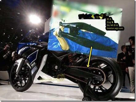 swing arm yamaha R25
