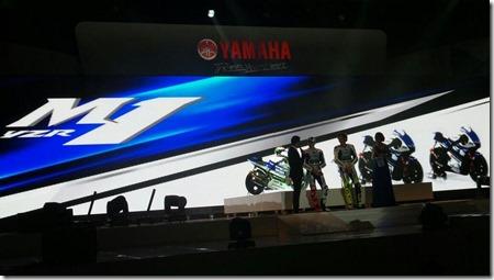 yamaha M1 2014 livery launch