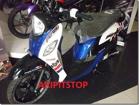 Yamaha mio Fino Injeksi hadir 5 warna harga naik Rp. 500 rebuan dan