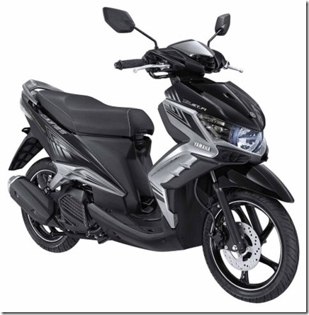yamaha new GT 125 eagle eye elegant black (Small)