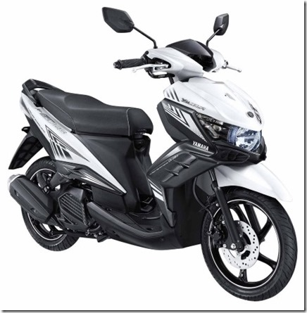 yamaha new GT 125 eagle eye luxury white (Small)