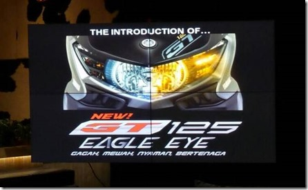 yamaha new GT 125 eagle eye new