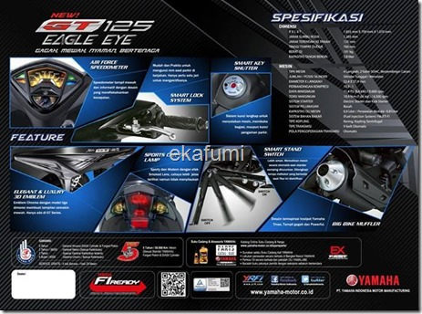 yamaha new GT 125 eagle Eye