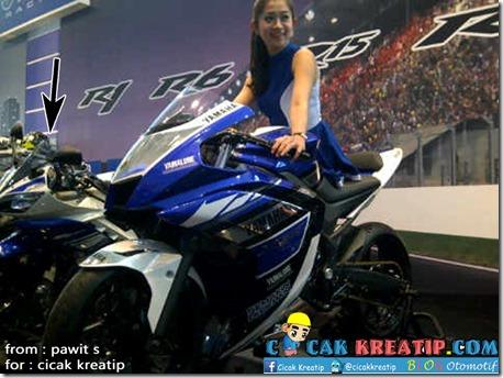 yamaha R15 Indonesia dan yamaha R25 concept