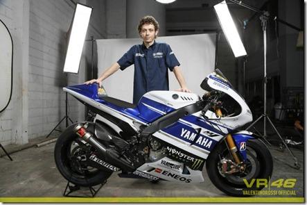 Yamaha YZF-M1 2014 Valentino Rossi 46
