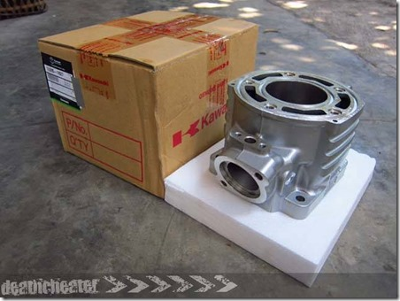 block cylinder ninja 150