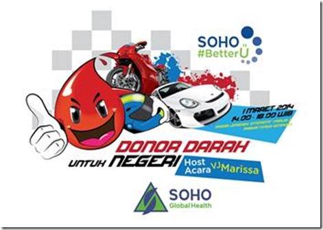 Donor Darah Untuk Negeri SOHO Global Health 1 Maret 2014
