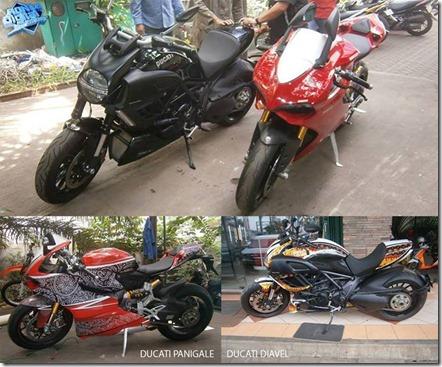 Ducati motif Batik Indonesia 1
