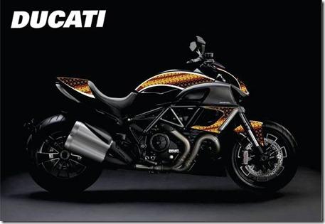 Ducati motif Batik Indonesia 2