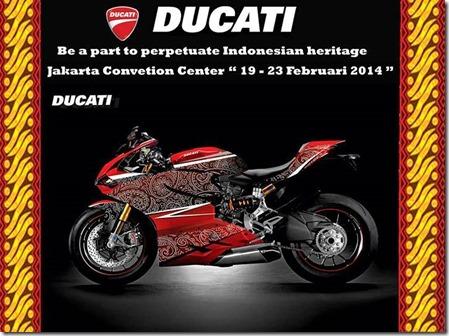 Ducati motif Batik Indonesia 3