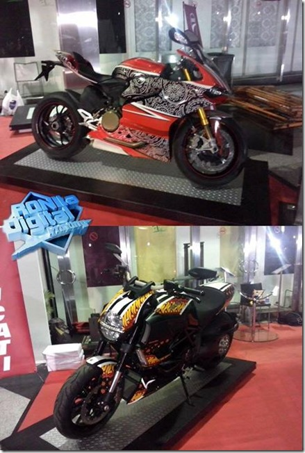 Ducati motif Batik Indonesia 5