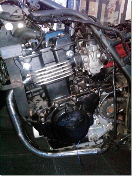 engine swap kawasaki nnje 250 to 500 cc