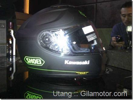 helm shoei kawasaki Z1000 2014