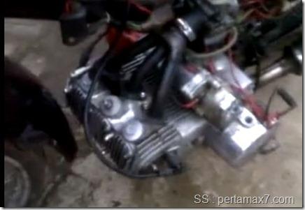 honda Grand 3 cylinder pasang