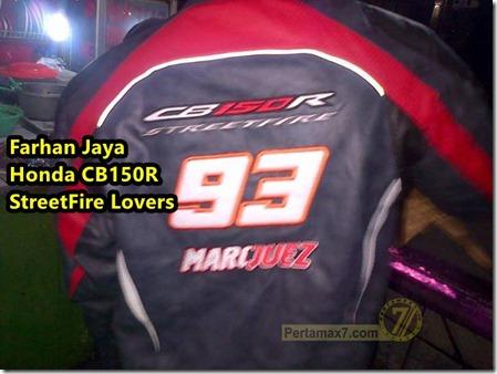 Jaket Marquez Limited Edition untuk Honda CB150R Bekasi a