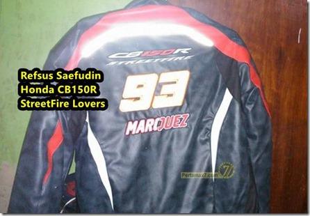Jaket Marquez Limited Edition untuk Honda CB150R Bekasi
