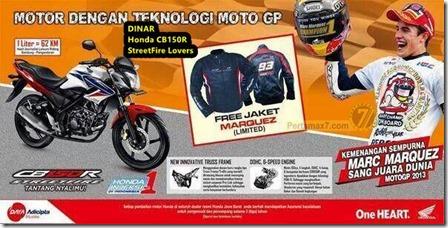 Jaket Marquez Limited Edition untuk Honda CB150R