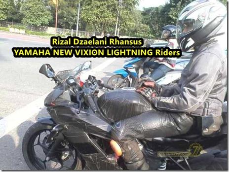 kawasaki ninja 250 RR mono test jalanan
