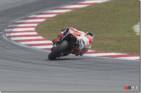 marc marquez 93 on test motogp sepang 2014