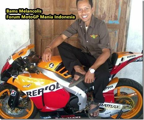 Modifikasi Honda Tiger menjadi Honda RCV213V owner