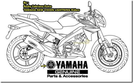 modifikasi yamaha new V-ixion