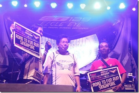 Pemenang Glow Run Night Series GT125 Semarang