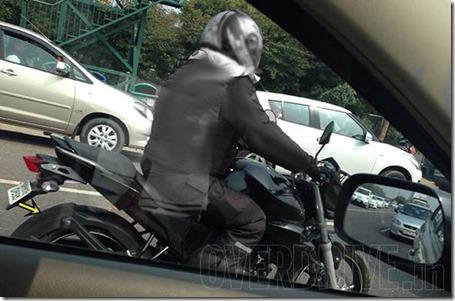 Spied new Yamaha FZ Update 1