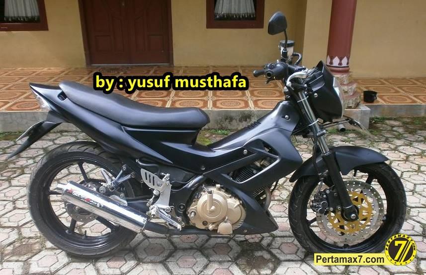 Suzuki Satria FU Berkaki Yamaha Byson Padat Nan Kekar
