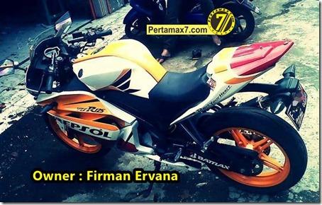 Yamaha New Vixion Modip YZF-R125 livery honda repsol Marquez 93 b