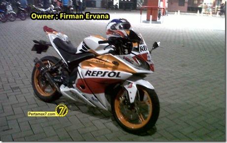 Klarifikasi Yamaha New Vixion Lightning Modip ala R125 Livery Repsol