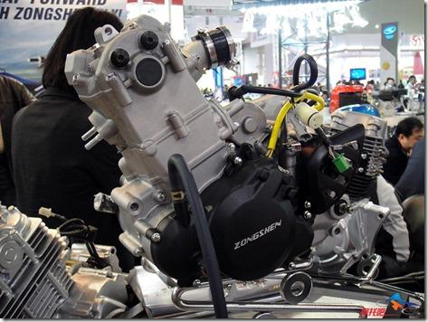 Zongshen RX3 engine 250