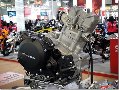 Zongshen RX3 engine