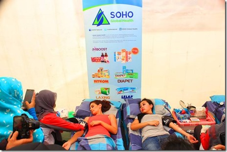1. Donor Darah SOHO Global Health 1 Mar 2014
