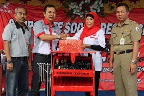 Ekspedisi Nusantara Honda Tingkatkan Keterampilan Teknik Pelajar SMK 001