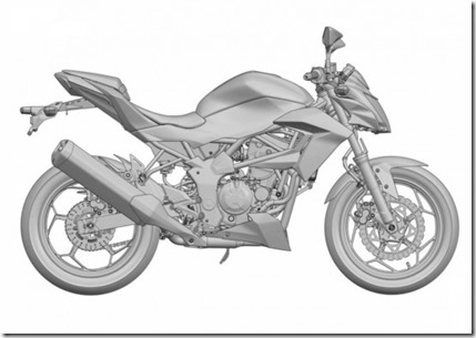 ER2n Ninja 250 RR Mono naked version 3