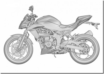 ER2n Ninja 250 RR Mono naked version 5